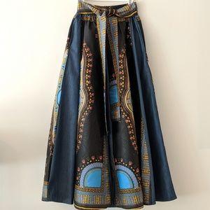 Dresses & Skirts - Ethnic Boho Maxi Skirt